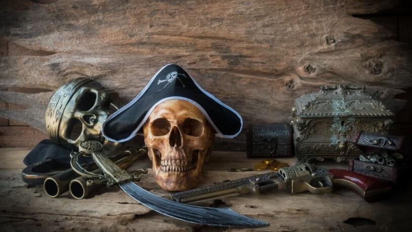 accommodation Haunted Pirate Ship 0