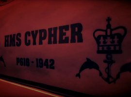 accommodation HMS Cypher